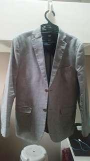 H&M blazer/coat/suit/jacket for men