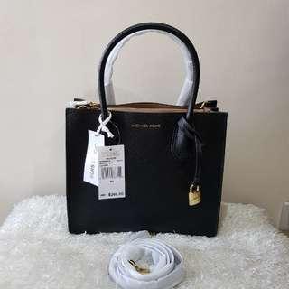 Authentic Michael Kors Medium Mercer Crossbody Bag