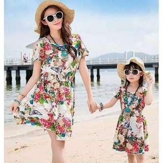 Mother & Daugther Dress