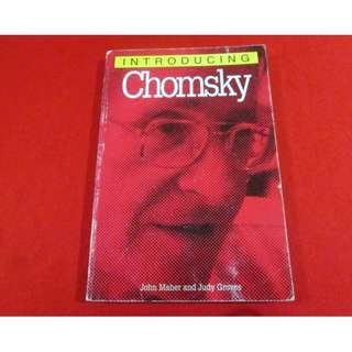 Introducing Chomsky by John Maher and Judy Groves