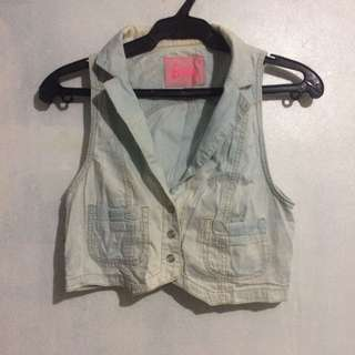 Denim Vest Barbie