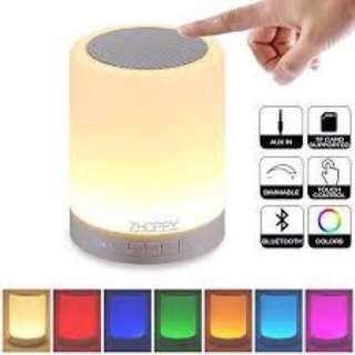 BLUETOOTH LIGHT SPEAKER