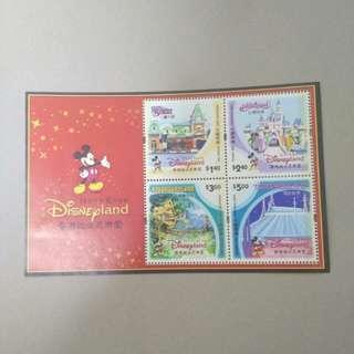 2003年香港迪士尼樂園 小全張 HK Disnepland