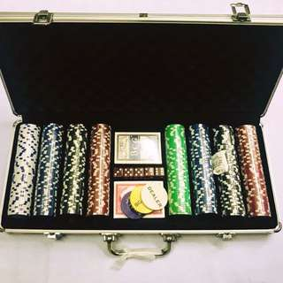 Poker Set w/ Alum Case 400pcs
