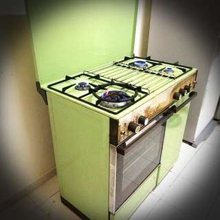 Dapur 4 Penunu With Oven Hood Sharp 10kg Washing Machine Kitchen Liances On Carou