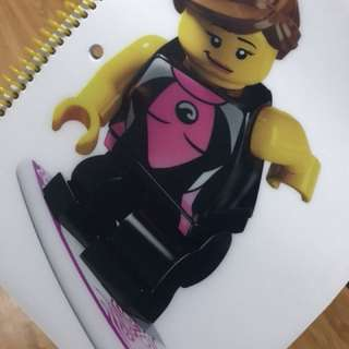 Lego Surfer Notebook
