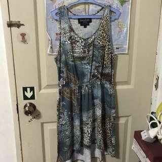 Kamiseta Hi-Low Dress