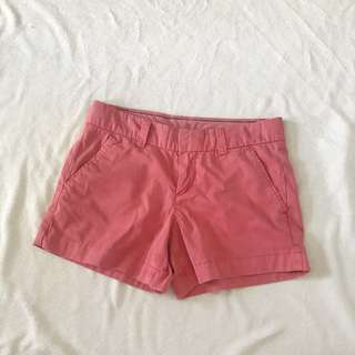 UNIQLO faded red summer shorts
