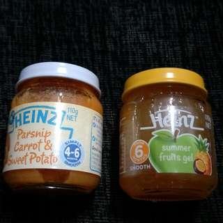 Heinz Baby Food ( 6 bottles for $7.20)
