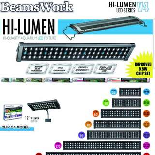 REMOTE BEAMSWORK Fish Tank led light at affordable price!!!(Brand New)  c/w 6 Months Warranty!!!