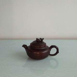 Old Chinese Zisha Teapot height 5cm diameter 4.5cm perfect