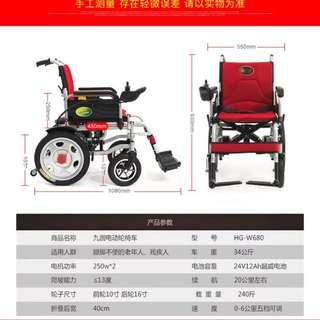 20A鋰電池,單雙人輪椅