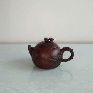Old Chinese Zisha Teapot height 7cm diameter 5.5cm perfect