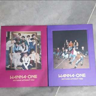 "WANNA ONE ""NOTHING WITHOUT YOU""ALBUM"