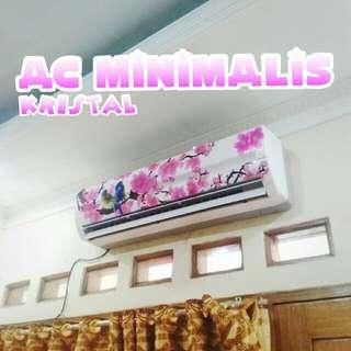 Baru AC Minimalis Kristal dambaan semua masyarakat