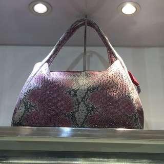 #awaltahun Luxury 🐍 Snake Leather Bag