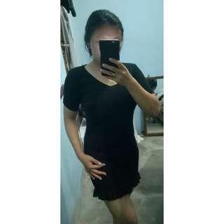 Dress mini rajut