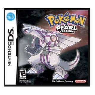 Pokemon Pearl for Nintendo DS/3DS