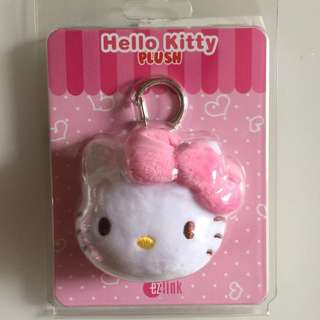 Limited Edition brand new Hello Kitty pink Design ezlink charm for $27.