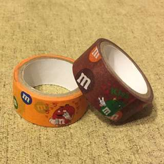 🚚 M&M紙膠帶