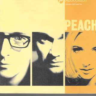 MY CD - PEACH = //AUDIOPEACH //FREE DELIVERY BY SINGPOST.