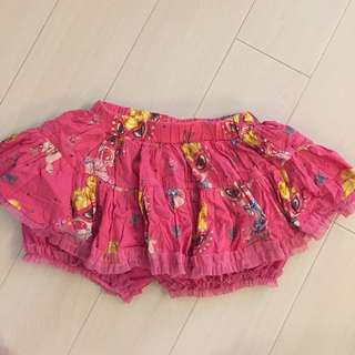 Hysteric Hysteric Mini Pink 裙褲 (Size 110)
