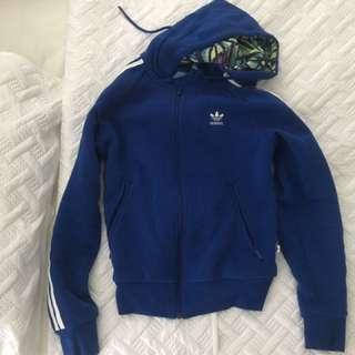 Adidas women's hoodie jacket size 8