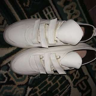WEDGES SNEAKERS WHITE