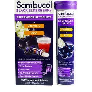 Sambucol, Black Elderberry 15 in a tin