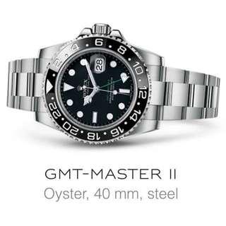 BNIB: Rolex GMT-Master II - 116710LN