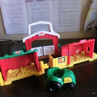 Little People Lot of Farm Toys