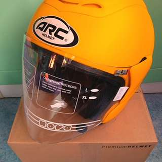 Helmet Arc Ritz Matte Yellow