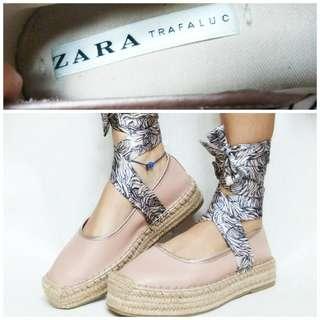 Zara trafaluc ori espadrilles