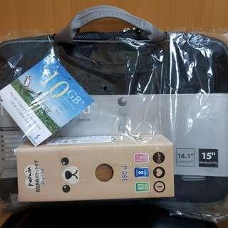 🚚 SUMDEX 手提電腦專用包+保溫瓶組合