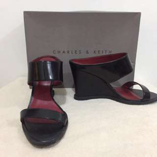 Charles and Keith Wedge Shoes