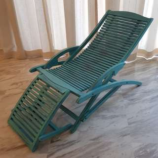UNIQUE! WOODY LOUNGE CHAIR