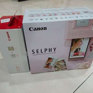 Canon Selphy Compact Photo Printer + Paper Set