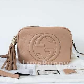 Authentic Brand New Gucci Soho Disco bag