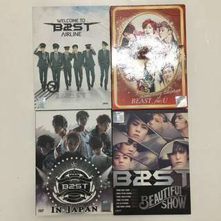BEAST UNOFFICIAL DVDs
