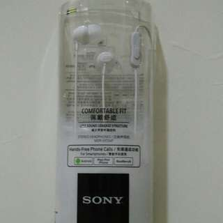 [BN] Sony MDR-EX15AP Earphone Ear piece | white