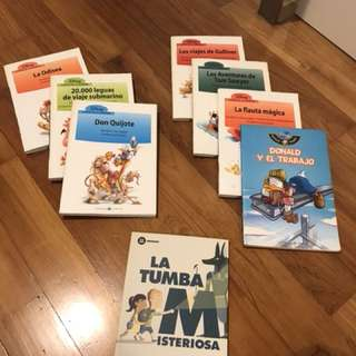 Spanish Disney Graphic Fiction