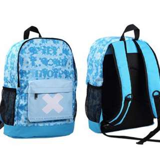 Chopper Blue Blue Backpack