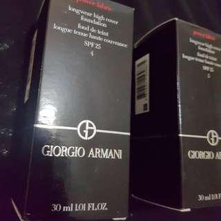 BNIB Giorgio Armani Power Fabric Liquid Foundation