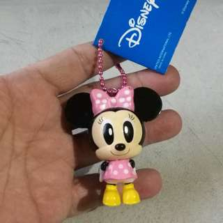 Disney minnie mouse keychain