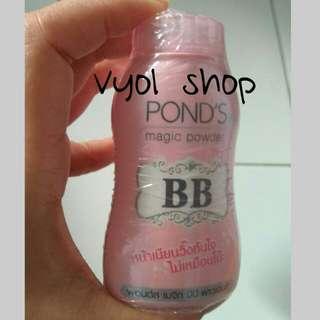 Bedak ponds bb/magic powder/bedak tabur/loose powder/face powder/bedak wajah