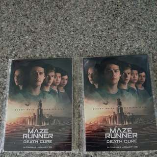 Maze Runner: The Death Cure Postcards