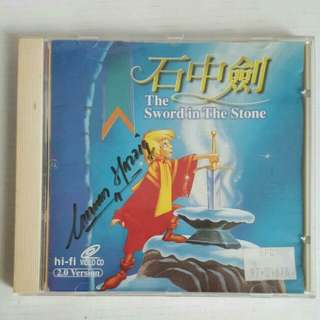 SALE📮The Sword In The Stone Cartoon VCD