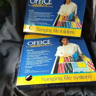 OFFICE SELECT hanging file system & folders 文件架
