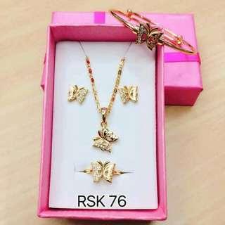 4in1 Rose Gold Set