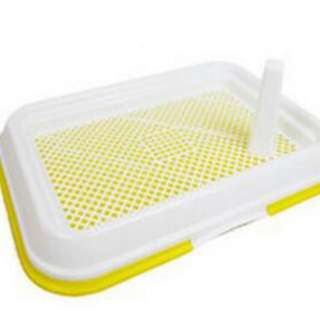 Free Doorstep Delivery Good Quality Pet Pee Tray for Small Pets 47cm X 34cm